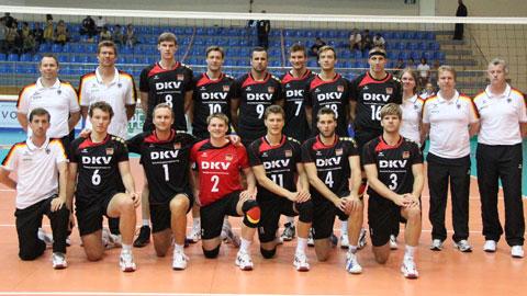 deutsche volleyball nationalmannschaft herren