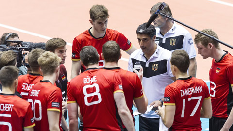 Deutschland Slowakei Volleyball